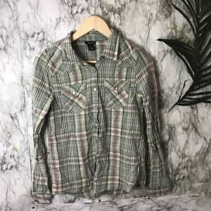 Rue 21 plaid shirt